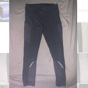Lulu lemon pants- black size 8 camo mesh